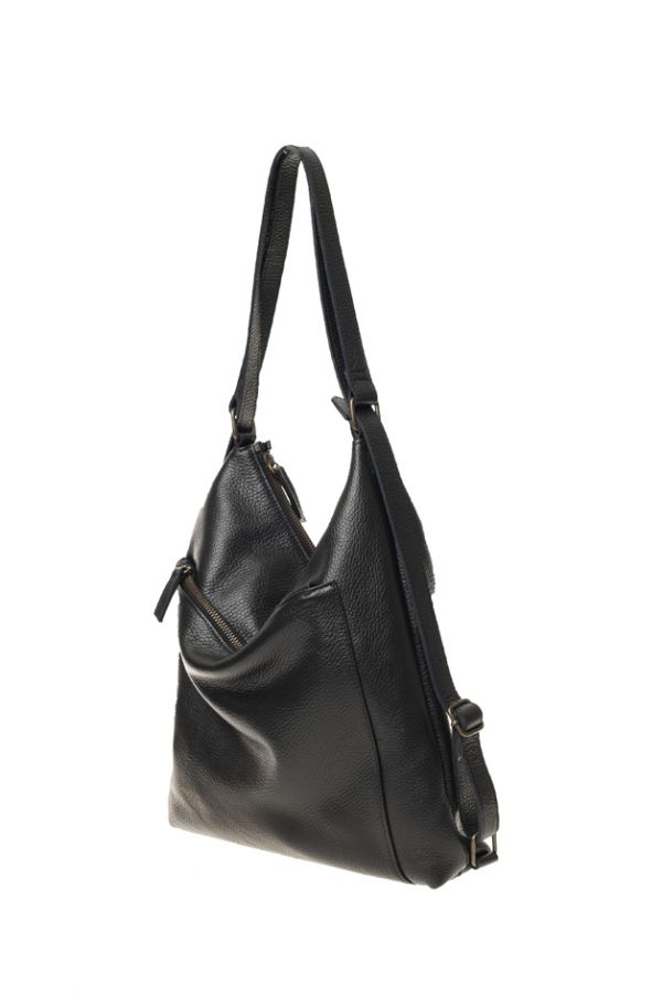 HELOR- Leather backpack / purse