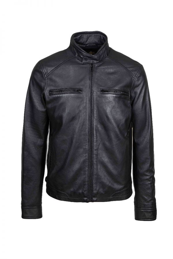SECTOR-Men's leather jacket