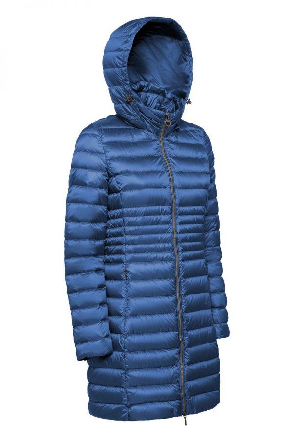 GEOX - Γυναικείο παλτό με κουκούλα και επένδυση από πούπουλο.