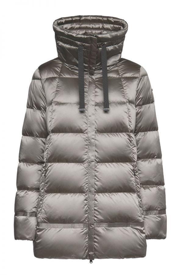 GEOX-ADRYA women down grey jacket