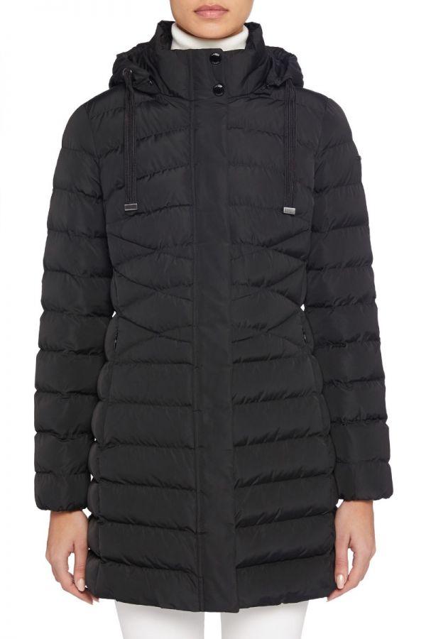 GEOX- ANEKO- Black  long jacket